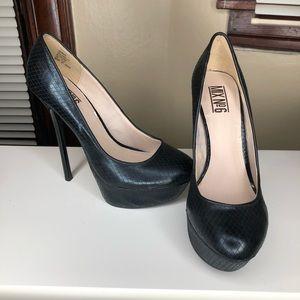 High platform stiletto heels